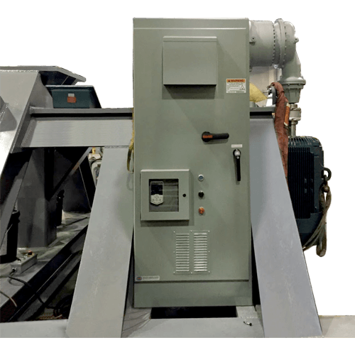 Belt Winder Control Panel
