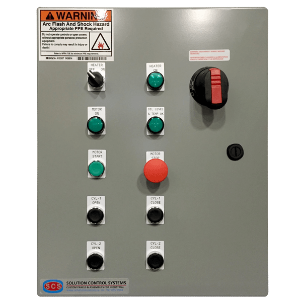 Hydraulic Power Pack Panel